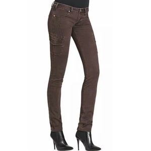 CAbi #962 Bittersweet Cargo Skinny Jeans Pants 8